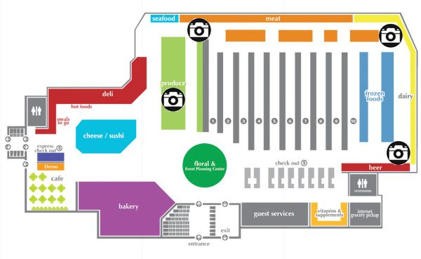 Grocery store map google search grocery stores for Store layout design free