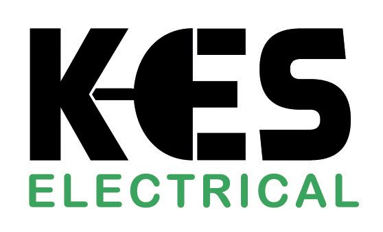 Logo for KES Electrical, New Plymouth, NZ.
