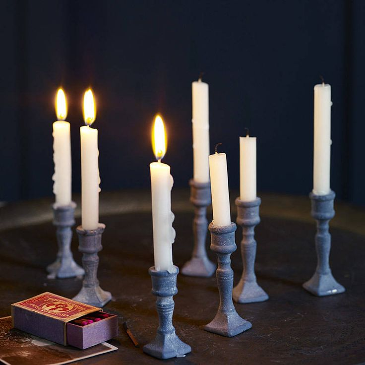 Mabel Miniature Candlesticks, Set Of Two