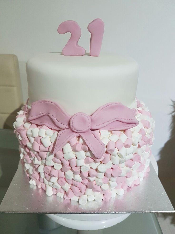 My daughter's 21st Cake I made.