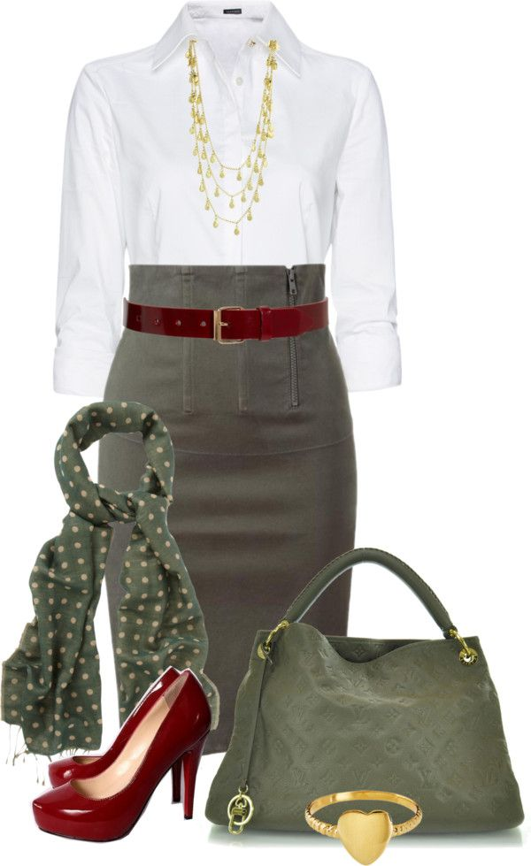 """""""No. 71 - (1 of 2) One idea, two outfits"""" by hbhamburg ❤ liked on Polyvore"""