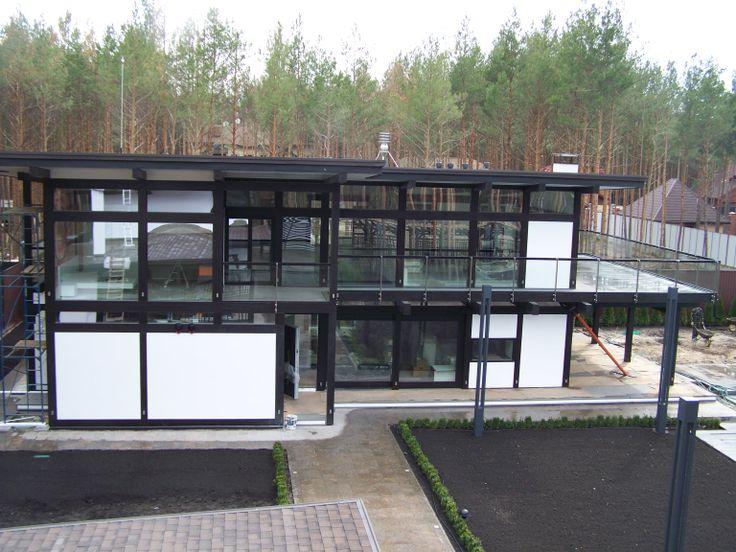 Дерево и стекло в современной архитектуре# Wood and glass in modern architecture# dervus.com.ua