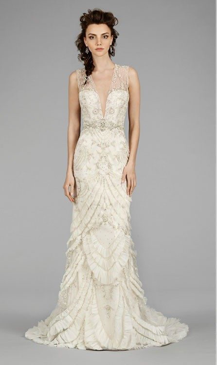 lazaro bridal gown 33036377 a line
