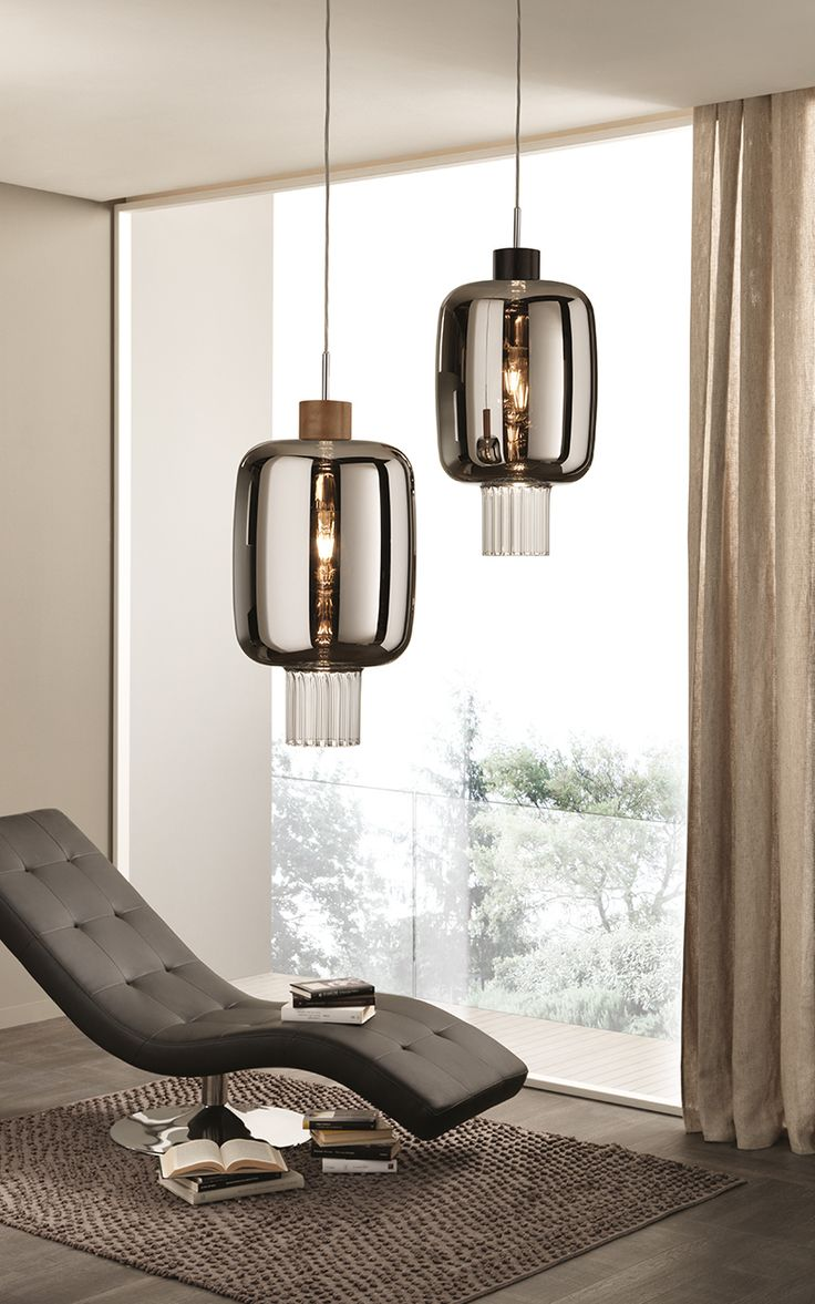 Direct light blown glass pendant lamp DOLIUM | Pendant lamp - Cangini & Tucci