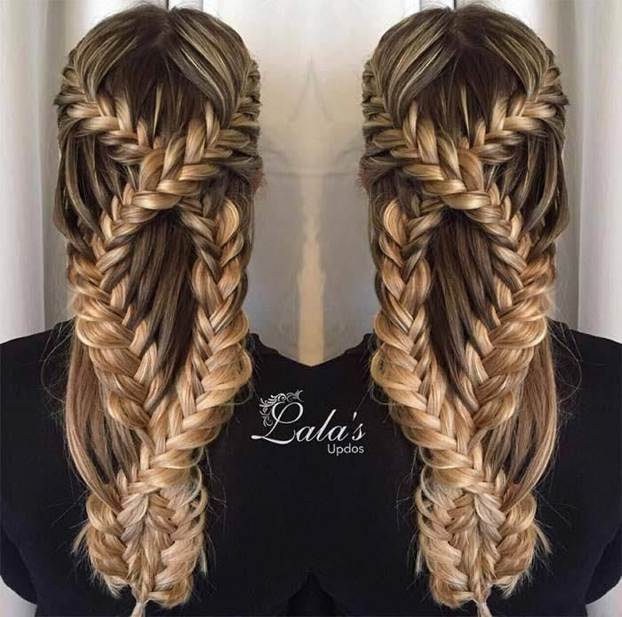 3 Ridiculously Cool Textured Braids