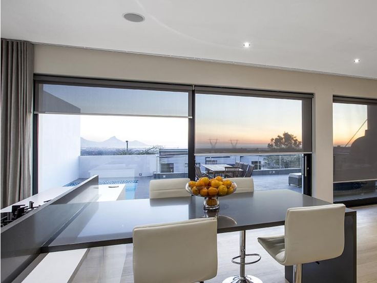 SheerWeave blinds beautifully installed by the best blinds company in western cape!