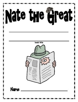 Nate the Great activity packet. @Devin Kennedy how are we just now coming across this?