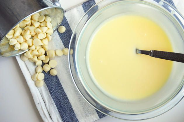 White Chocolate Ganache can be a topping for so many desserts. Truffles, frosting.glaze...you name it!