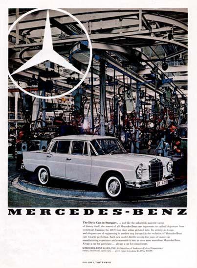 1000 images about mercedes benz vintage advertising on for Mercedes benz tagline