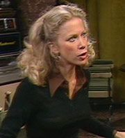 Fawlty Towers. Polly (Connie Booth). Image credit: British Broadcasting Corporation.