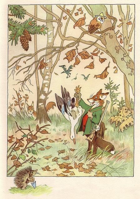 November von den wunderlichen leuten und den vier for Baum garten