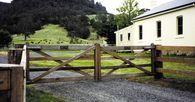 Double Farm Gate - 4.8m #AuthenticGates #timbergate #farmgate