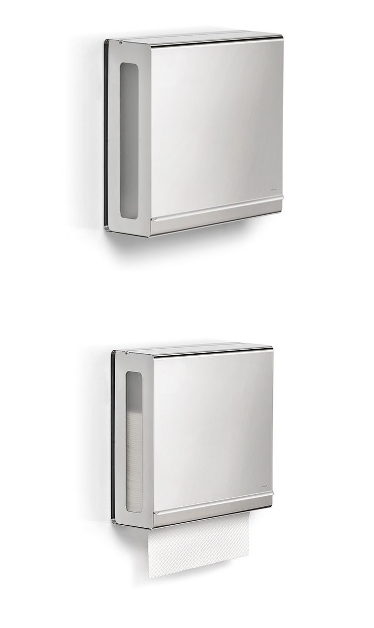 Bathroom Accessories: Blomus Polished C-Fold Paper Towel Dispenser