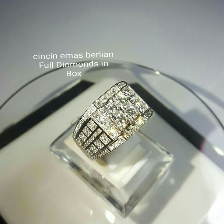 New Arrival🗼. For Man👨. Cincin Emas Berlian Full Diomonds in Box💎💍.   🏪Toko Perhiasan Emas Berlian-Ammad 📲+6282113309088/5C50359F Cp.Antrika👩. https://m.facebook.com/home.php #investasi#diomond#gold#beauty#fashion#elegant#musthave#tokoperhiasanemasberlian