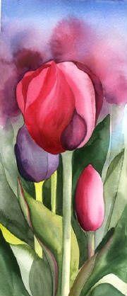 Amy Hautman - Tulip Art