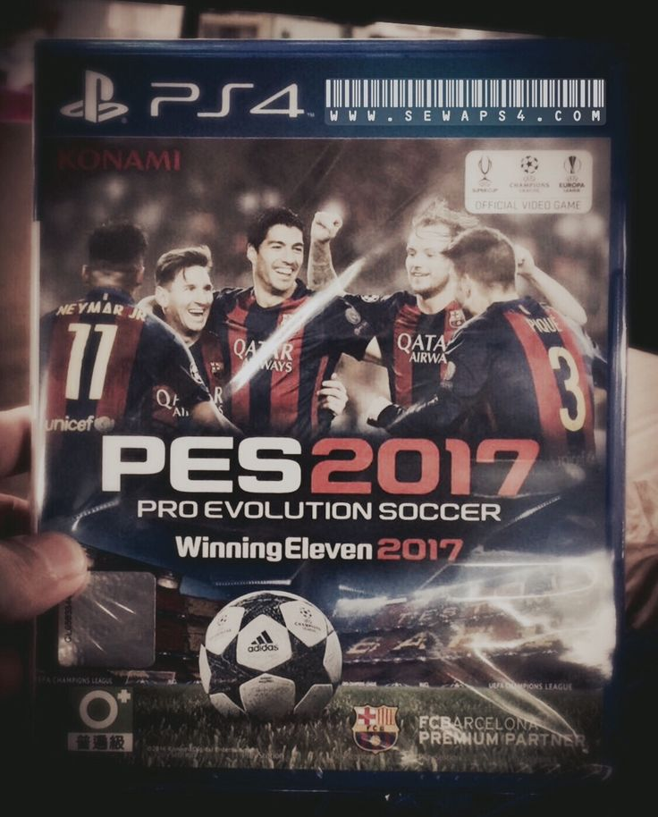 PES 2017 by sewaps4.com  I think I like this more than PES 2016 😊 #ps4harian #ps3harian #sewaps4 #sewaps3 #rentalps4