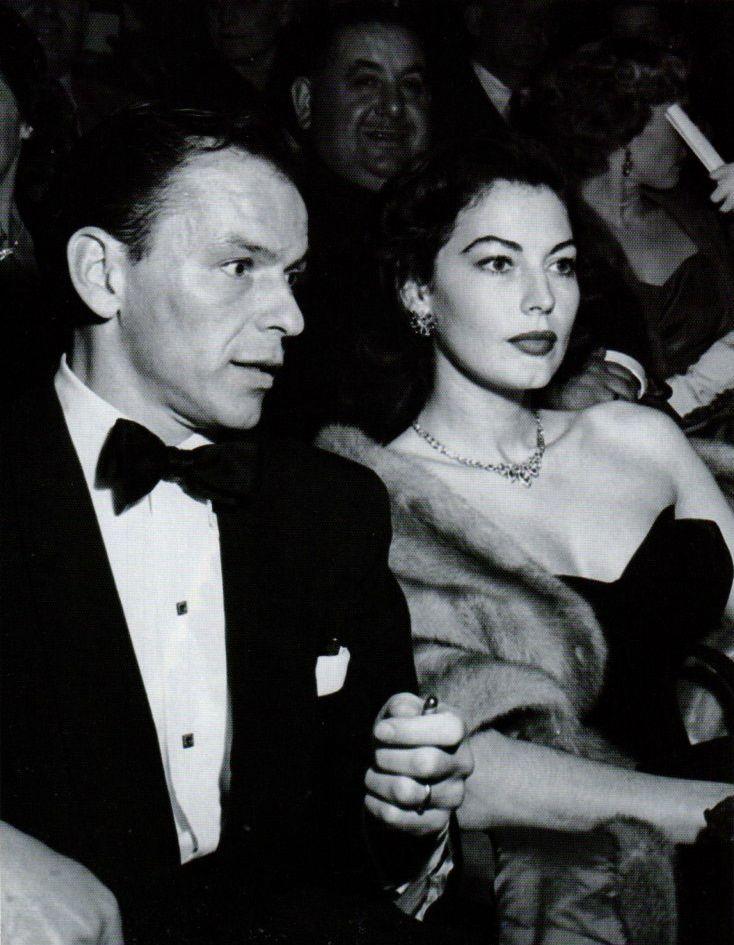 Frank Sinatra & Ava Gardner | Ava Gardner | Pinterest ...
