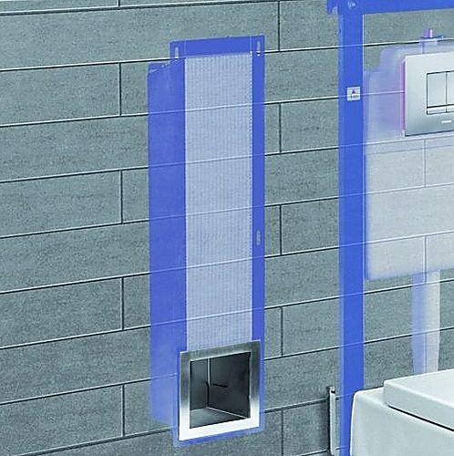 Meer dan 1000 idee n over kleine toiletruimte op pinterest klein toilet toiletruimte en toiletten - Welke kleur in het toilet ...