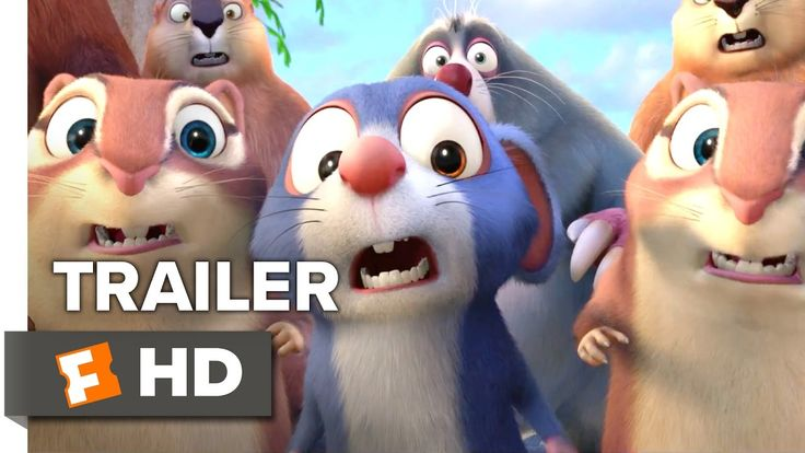 The Nut Job 2: Nutty by Nature Teaser Trailer https://www.youtube.com/watch?v=kpmJcS35830 #timBeta | Will Arnett | Pinterest | Movie and Latest movies