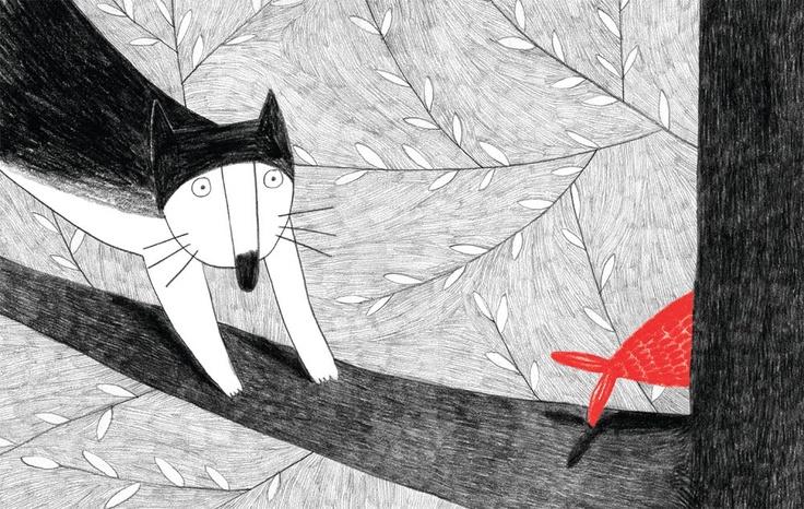Marianne Dubuc, Le chat