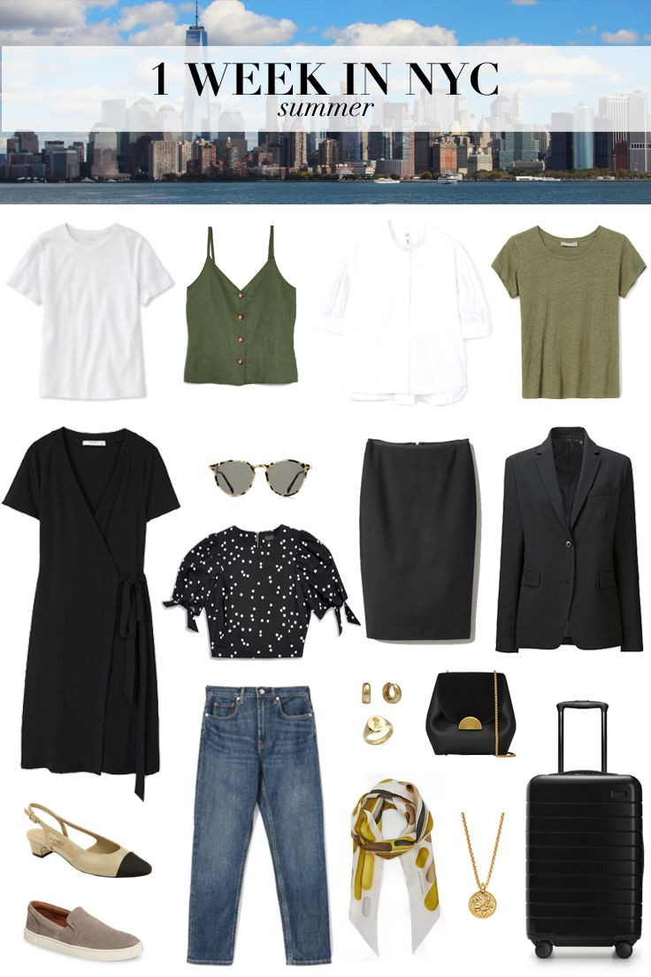 d2d7ff99 SUMMER PACKING GUIDE: 1 WEEK IN NYC | Fashion | Summer in nyc ...