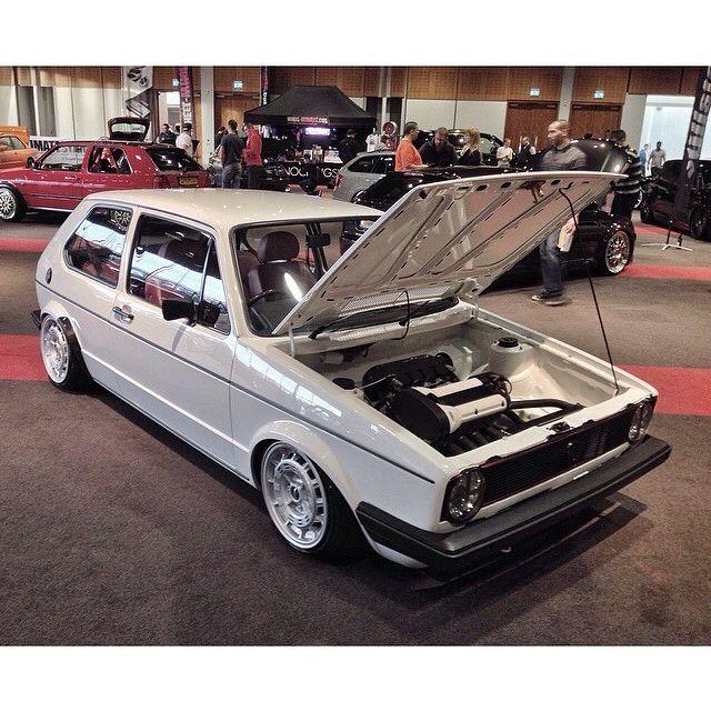 VW Volkswagen MK1 A1 Rabbit Engine Bay Shaved