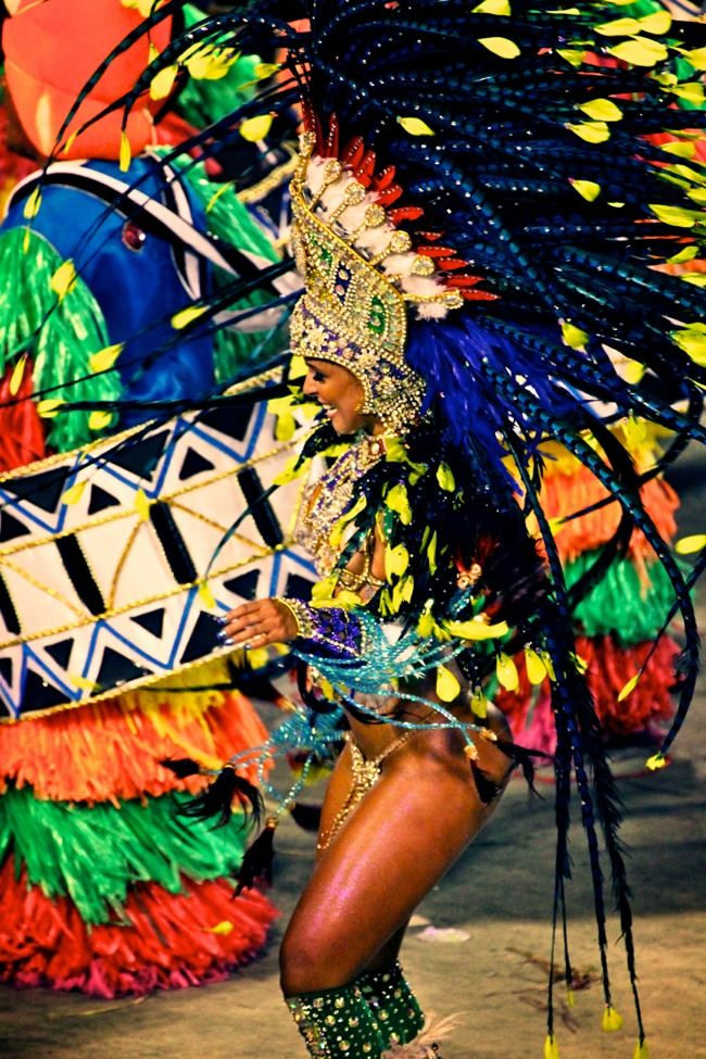 Go to Carnival in Rio, everything about it looks like so much fun I just want to be a part of it.