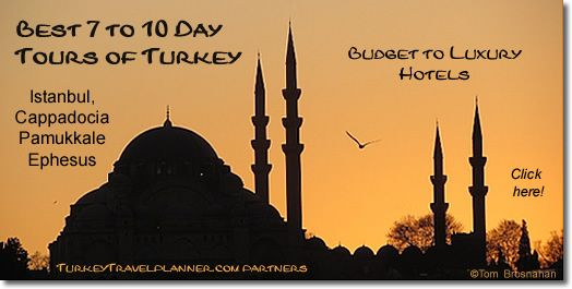Best 7 to 10 Day Tours of Turkey - click here!