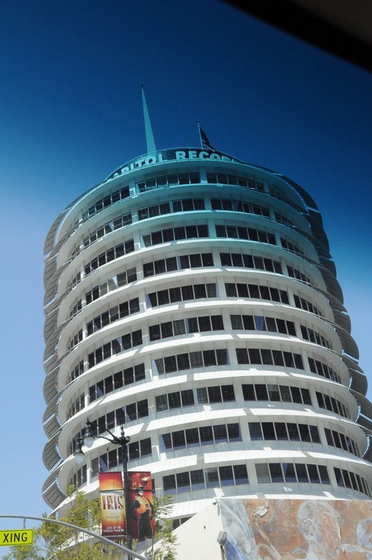 My favorite stretch of stars on the Hollywood Walk of Fame is the block in front of the Capitol Records building.  We should make a music mashup of songs corresponding to each name as you walk along.