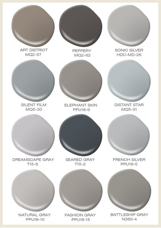 Gray can be anything but boring take a look at our for Popular light paint colors