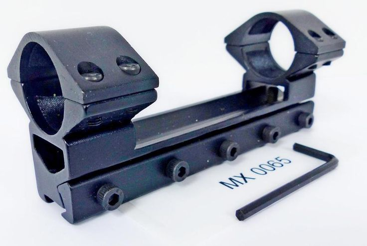 25.4 mm one pce Rifle Scope Mounts 11 mm Dove tail Rail - 25/11   MX 0065