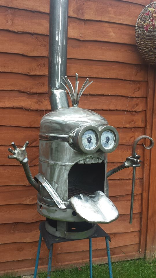 15 Best Minion Fire Pit Images On Pinterest Minion Fire