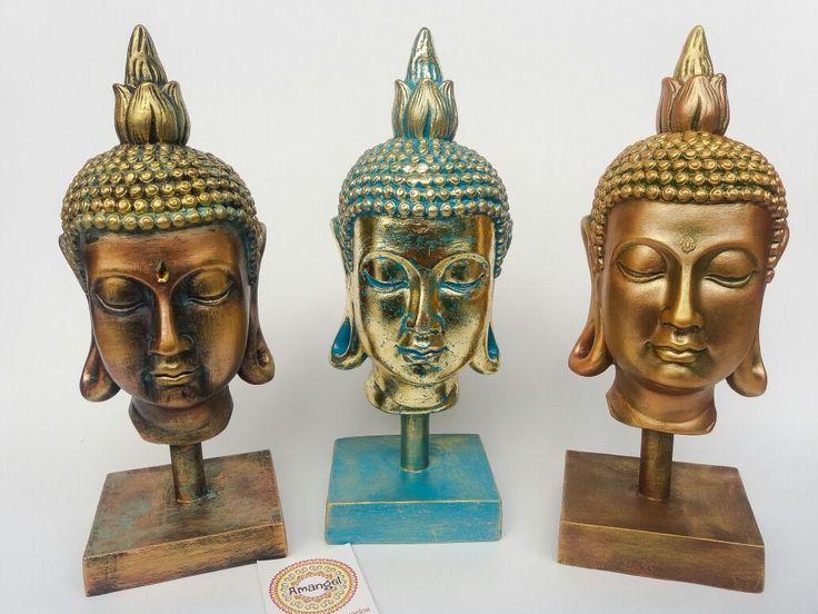 Cabeza de Buda mediana Pedidos al 3176552224 Facebook e Instagram Amangel Tienda