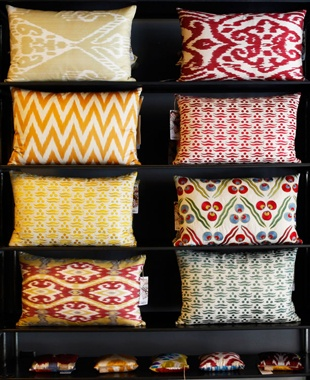 Beautiful and massively overpriced cushions - Yastik by Rifat Ozbek