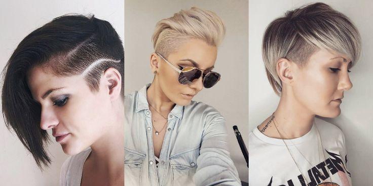 40 stili di capelli rasati su un lato per una fresca estate! ,     Una volta era riservato essenzialmente alle amanti del punk rock e alle giovani ragazze un po' eccentriche. Oppure, a quelle dotate di una forte...