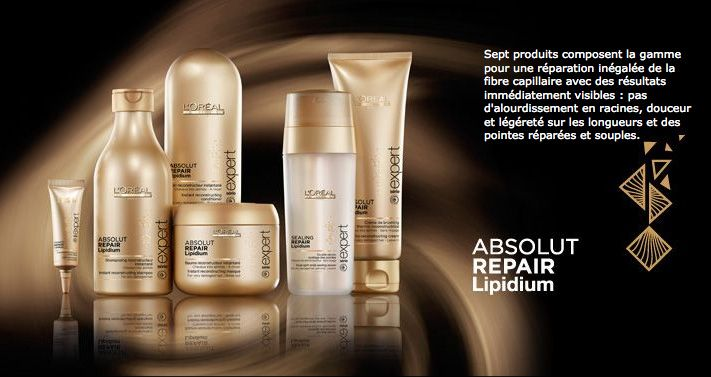Loreal Professionnel Absolut Repair Lipidium  http://www.qqey.ru/categories/absolut-repair-lipidium-kompleksnoe-vosstanovlenie-volos  Смена поколений! Обновление легенды!
