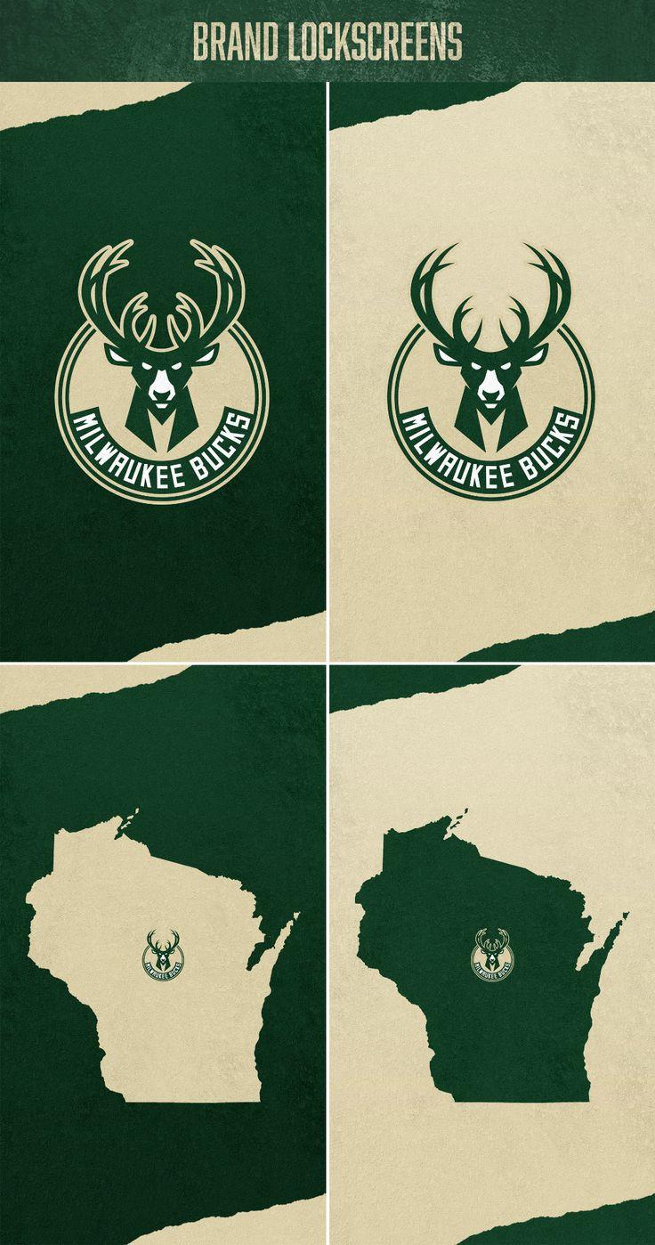 Meech Robinson on Behance Brand concept, Milwaukee bucks