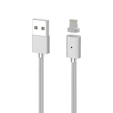 Magnetic Adsorption 3rd Gen High Speed 2.4A 8 Pin USB Charging Data Transmission Cable For iPhone 7 Sale - Banggood.com