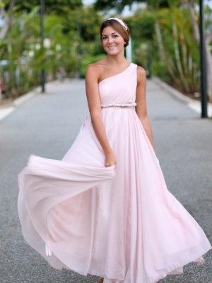 marianela406862 Outfit   Verano 2012. Combinar Vestido Rosa suave/Rosa palo Sheinside, Cómo vestirse y combinar según marianela406862 el 1-9-2012