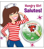Hungry Girl - Mix Your Own Sauce:Essential add-ins include soft meltable cheeses and a creamy ingredient. Our favorite combo? TheLaughing Cow Light Creamy Swiss+ 2% American cheese + light sour cream = SUPER tasty! P.S. Adding a wedge of LCL is a great way to boost the flavor of pre-sauced frozen veggies.