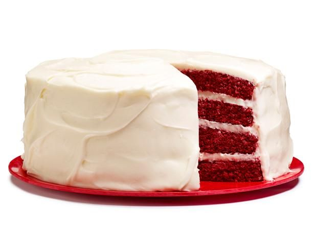 Red Velvet Cake can feed a crowd!: Food Network, Velvet Layered, 10Th Birthday, Layer Cakes, 11Th Birthday, Foodnetwork, Layered Cake Recipe, Cream Cheeses, Red Velvet Cakes