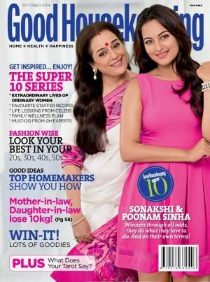 Mother-daughter-duo Poonam & Sonakshi cover Good Housekeeping 0