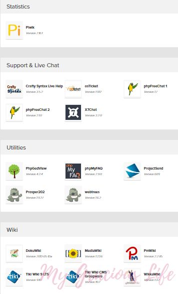 STATISTICS, SUPPORT & LIVE CHAT, UTILITIES, WIKI