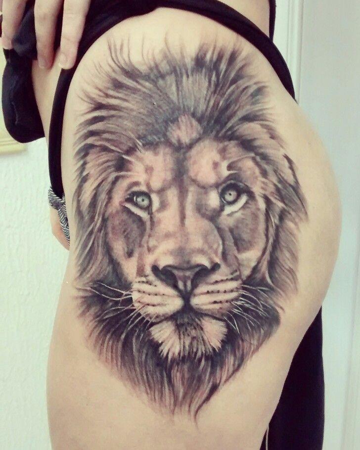 Tattoo Ideas Lion: Leão Realismo - Lion Realism