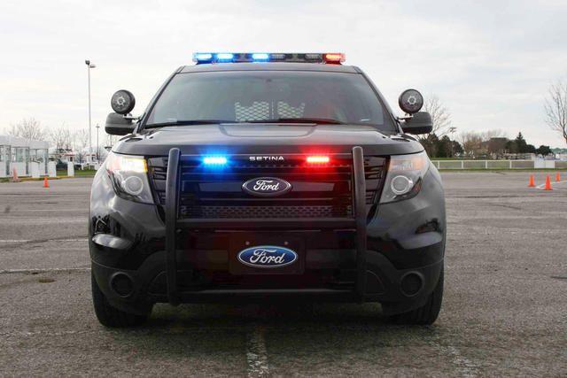 Police Car Bumper  Ford Explorer
