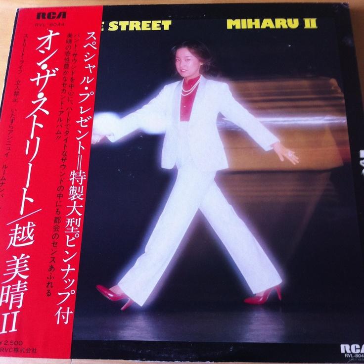 越美晴 / オン•ザ•ストリート LP RCA 1980