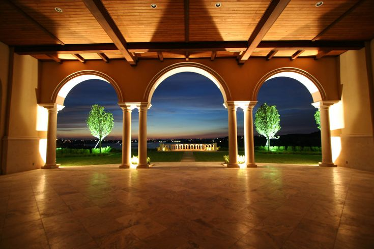 Villa del Lago_Gallery - Pavilion Night Skyline View
