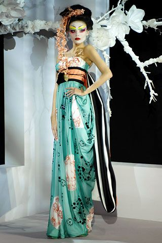 Christian Dior's Haute Couture Creation Collection Pictures S/S 2007