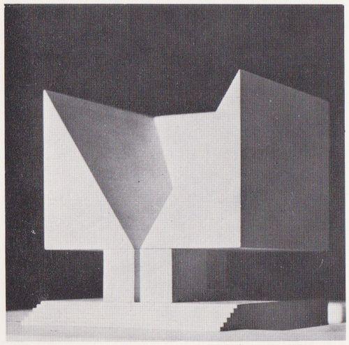 Aldo Rossi: Memorial German Opposition,1962