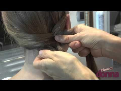 Le pettinature per capelli lunghi per un matrimonio - YouTube